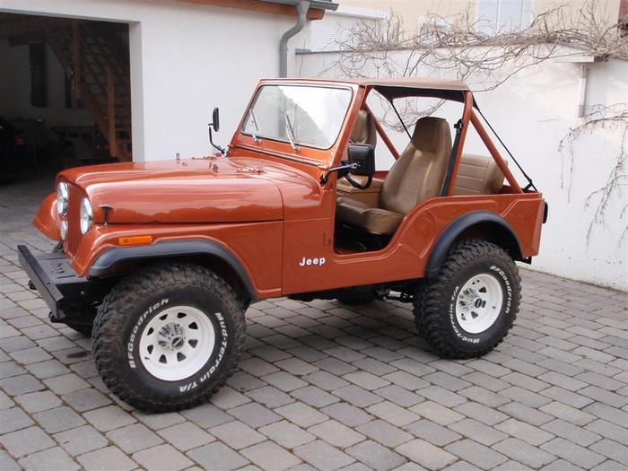 76 Jeep CJ5, frame-off rebuilt - need some help for ...